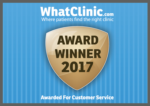 What Clinic Award Badge
